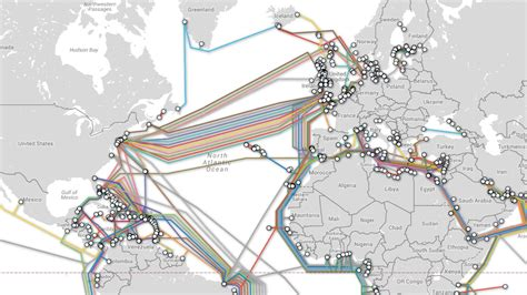 undersea cable map interactive map of submarine cables boing boing