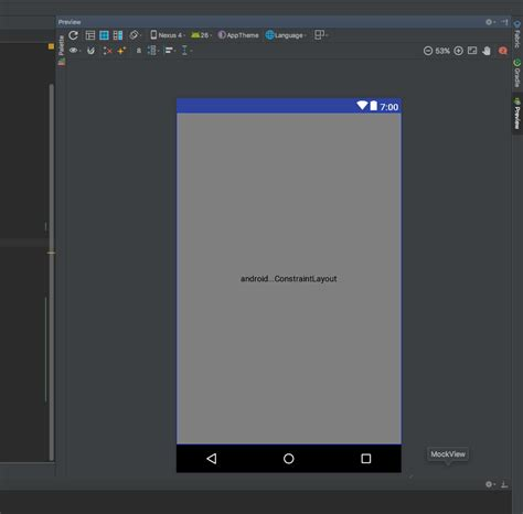 layout preview android studio not working android studio 3 constraint layout editor issue stack