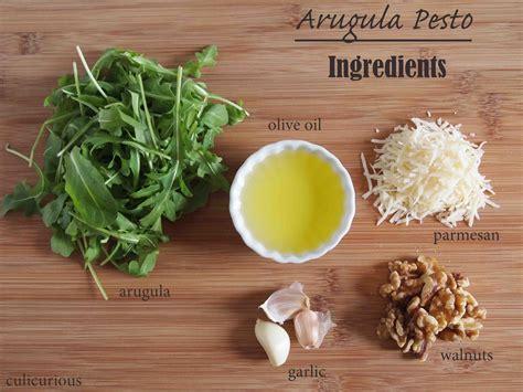 arugula pesto recipe ingredients culicurious