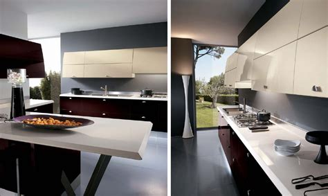 italian kitchens from giugiaro designs