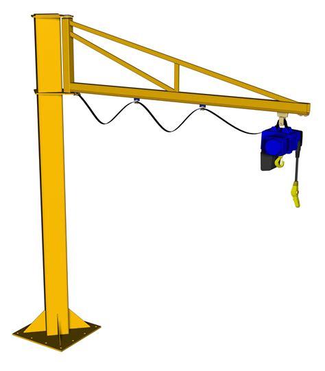 swing crane niko jib crane