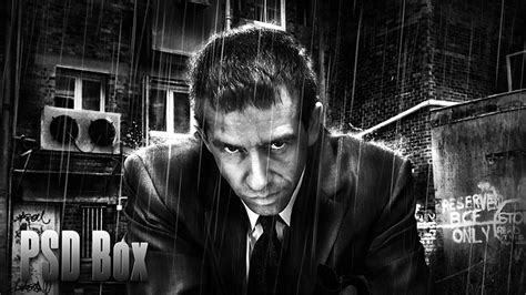 tutorial photoshop black and white business man awesome black white effect in photoshop