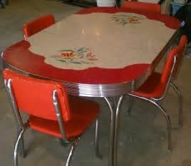 Chairs chrome vintage kitchen retro kitchen table kitchen formica