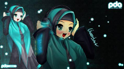 wallpaper anime muslimah hatsune miku muslimah style 2 by uwezu93 on deviantart