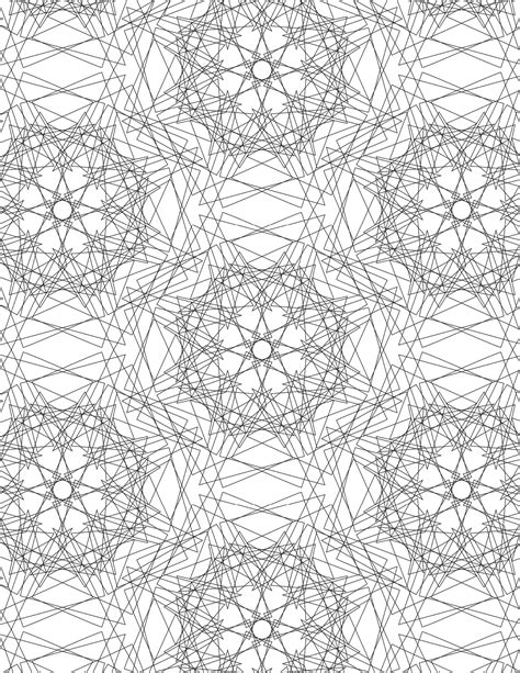 crazy geometric coloring pages the spinsterhood diaries coloring page crazy geometry