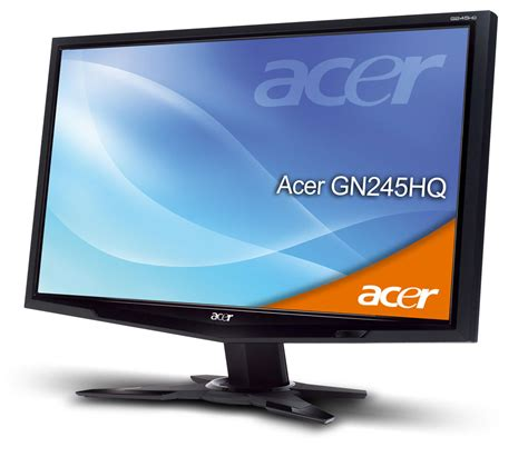 Monitor Acer Hdmi acer gn245hq is hdmi 3d monitor flatpanelshd