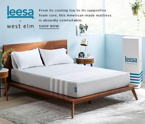 West Elm Simple Low Bed Frame Beds West Elm
