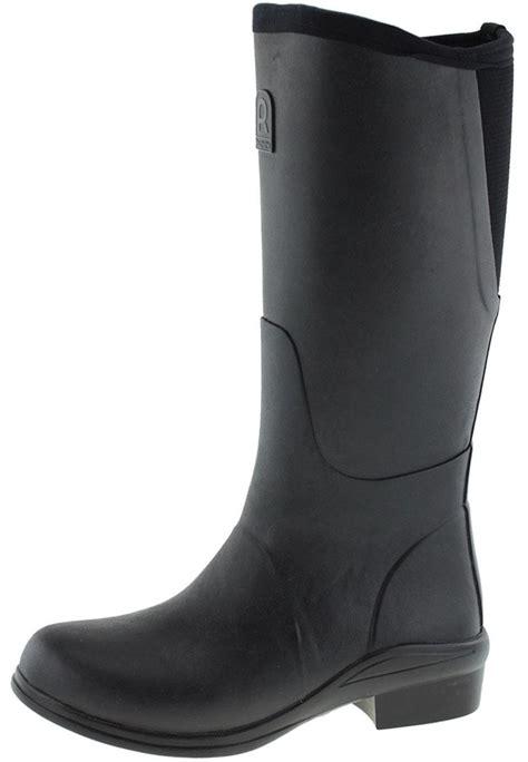 heel original noir rubber boots by rouchette