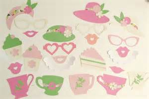 items similar to photo booth props shabby chic tea party