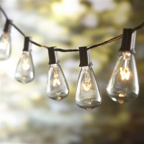 Light Bulb Strings Outdoor Lighting Ideas For Outdoor Living