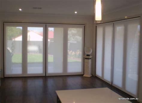 Roller Blinds Doors by Roller Blinds Bi Fold Doors By Rainsfords Adelaide