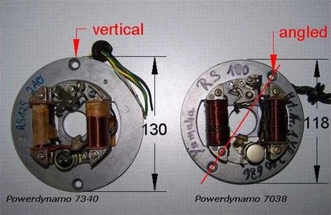 powerdynamo for yamaha rs100 125