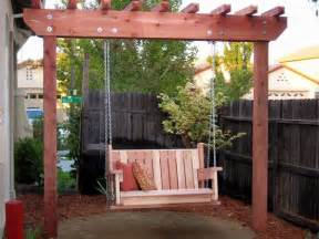 swing backyard diy outdoor swings for relaxing in the garden
