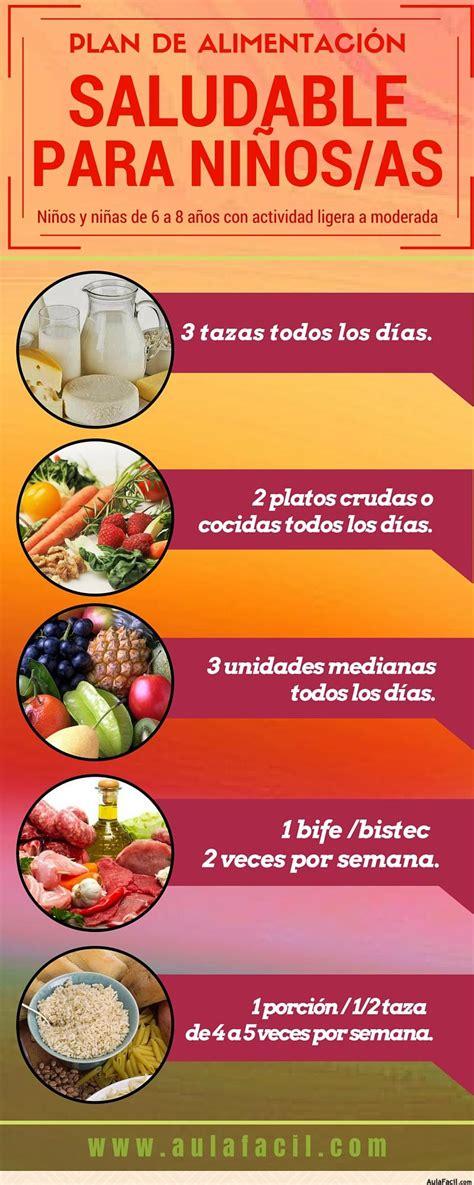 alimentos nutritivos para los niños curso gratis de alimentaci 243 n saludable para ni 241 os plan