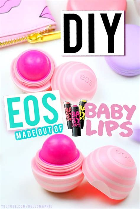 Maybelline Refill diy eos refill using maybelline baby extremely easy