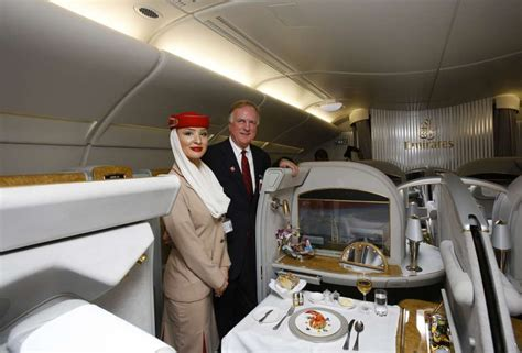 Emirates Cabin Crew Salary 2014 by Emirates Lands A380 Aircraft At George Bush Intercontinental Airport Houston Chronicle