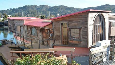 sausalito boat houses for sale poet shel silverstein s sausalito houseboat asks 390k