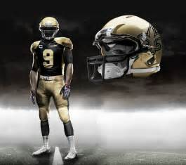 saints colors new nfl nike uniforms with pictures of all teams