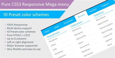 tutorial css responsive css responsive mega menu tutorial