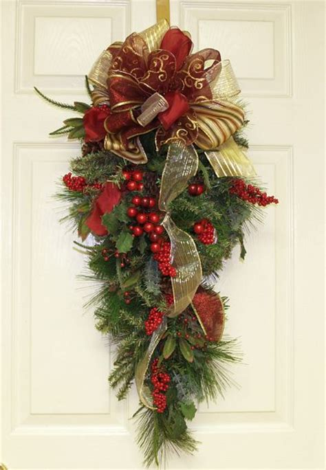 christmas swags for doors best 25 door swag ideas on swag swag swag shop and swags