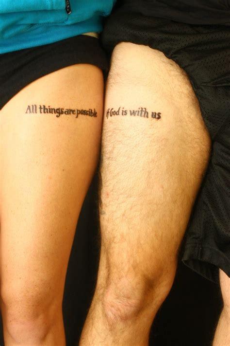 couple tattoo designs pinterest matching marriage tattoos matching couples tattoos