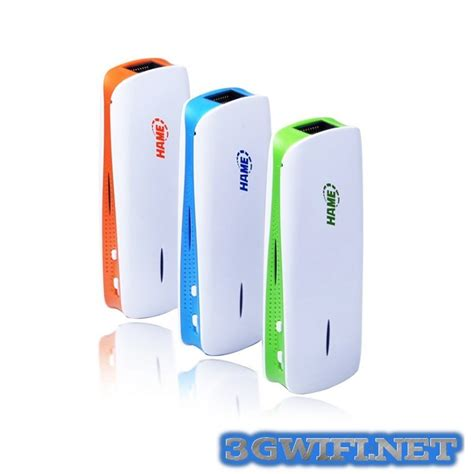 Wi Fi Router Hame A15 bộ ph 225 t s 243 ng wifi từ sim 3g hame a11w router wifi 3g