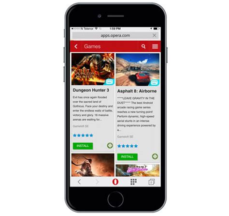 opera mobile app store opera mobile store gameloft to launch its on opera