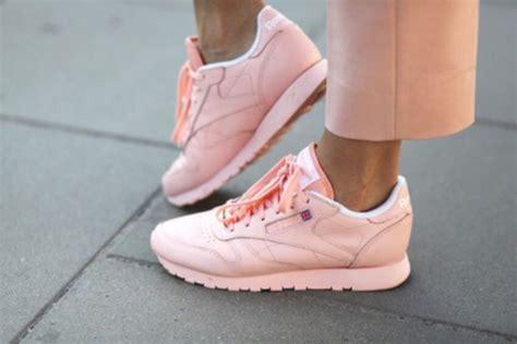 shoes pink sneakers pastel reebok pastel sneakers