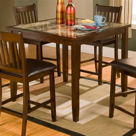 Table Capitola by Capitola 5 Pub Set In Espresso Dcg Stores
