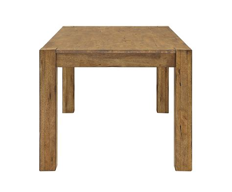 better homes and gardens bryant dining table rustic brown table bruin