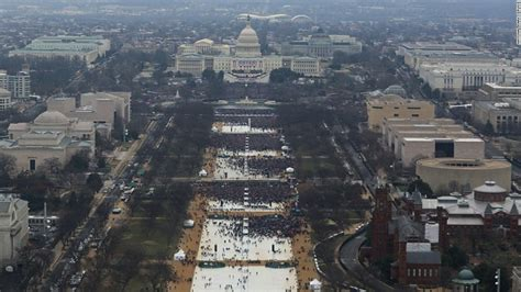 picture of inauguration crowd new inauguration crowd photos released cnn video