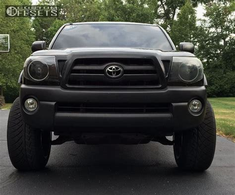 2007 Toyota Tacoma Accessories Wheel Offset 2007 Toyota Tacoma Aggressive 1 Outside