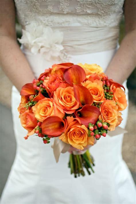 fall mountain resort wedding simple wedding bouquets