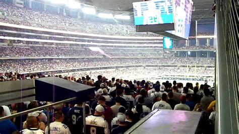 pass section party pass section at cowboys first game youtube