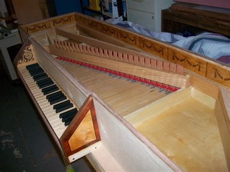 finally finished  harpsichord woodworking talk