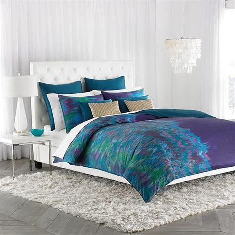 decorating  bedroom  green blue  purple