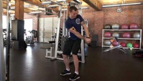side cable cross exercise