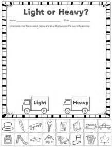 9 Best Heavy Light Images On Pinterest Math Measurement