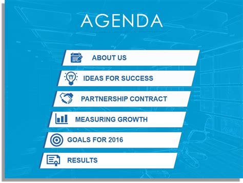 create  fantastic powerpoint agenda  template