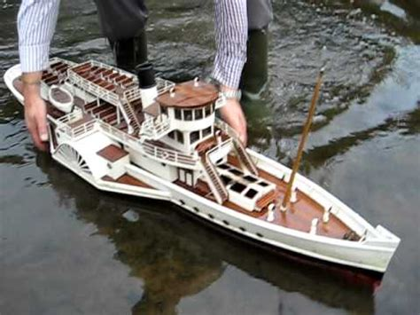 model steam boat youtube rc steam boat catches fire youtube
