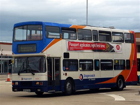 volvo middlesbrough exterior of stagecoach on teesside s 16839 volvo oly