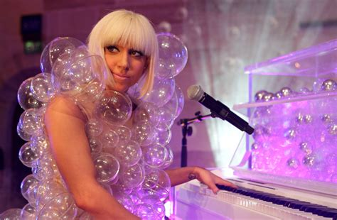 Dress Gaga gaga s 10 most whacky and looks wardrobes