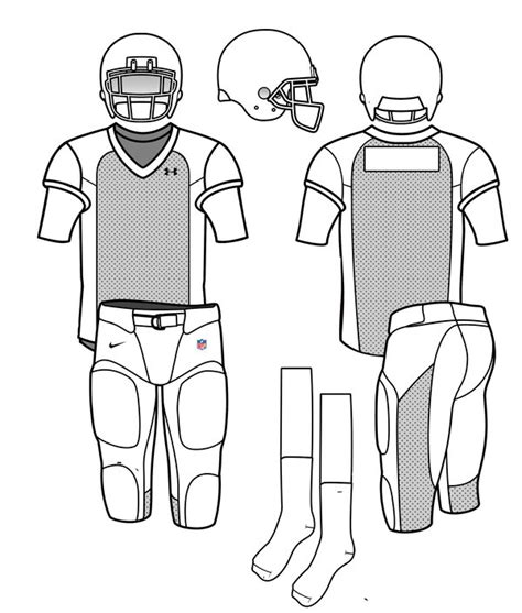 Football Template By Kaito42 On Deviantart Football Jersey Template