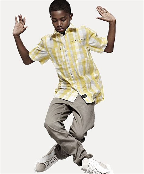 what is the style nowadays for 11 year boy haircuts sean diddy combs recruits 14 year old son to model his