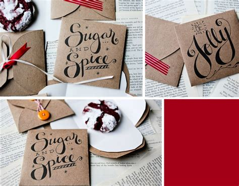 printable cookie envelope 15 creative diy gift wrap ideas the dieline packaging