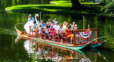 swan boat season in boston boston swan boats top attraction boston discovery guide