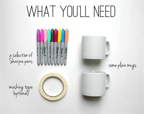 design mug with sharpie design your own sharpie mugs diy pinterest sharpies