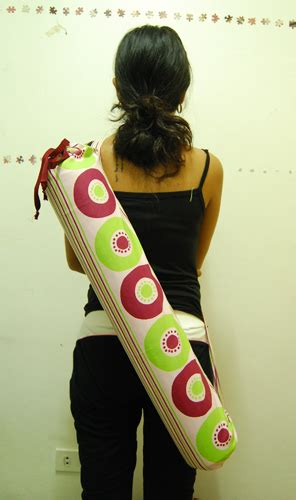 tutorial yoga bag how to make a yoga mat bag make