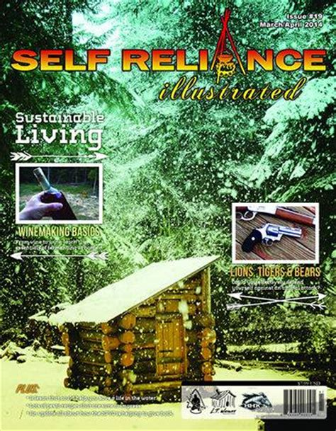 Self Magazine Giveaways - self reliance illustrated magazine issue 19 giveaway trayer wilderness