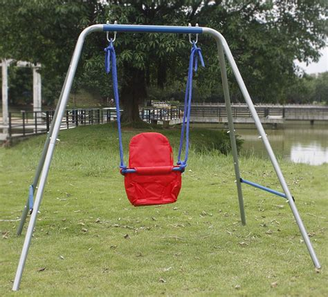 portable swing set portable kids baby foldable indoor outdoor swing set
